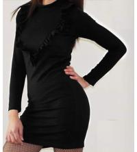 Robe milano noir sport chic