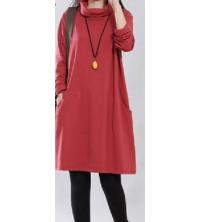 Robe rouge pour femme