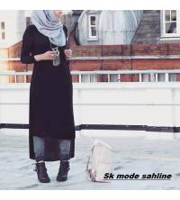 Robe long noir