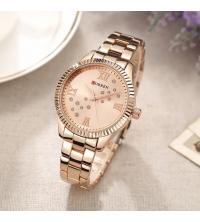 Montre Femme CURREN - 9009-R - Garantie 1 An - Or rosé
