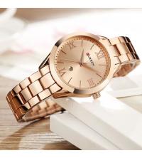 Montre femme CURREN- 9007-RR - Garantie 1 An - Rosé