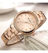 Montre CURREN Femme Rosée - 9003-1 - Garantie 1 An