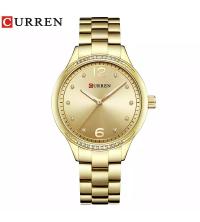Montre CURREN Femm Dorée - 9003-2 - Garantie 1 An