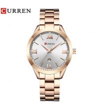 Montre CURREN Femme Rosée - 9007-RB - Garantie 1 An
