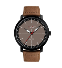 Montre ROCKET Homme - A317-MN - Marron Noir- Garantie 1 An