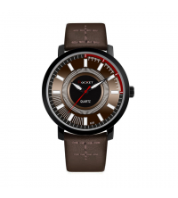 Montre ROCKET Homme -A316-MN- Marron Noir- Garantie 1 An