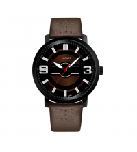 Montre ROCKET Homme - A340-MN- Marron Noir- Garantie 1 An
