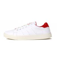 Basket pour homme Blanc & Rouge