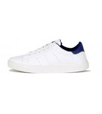 Basket pour homme Blanc & Bleu