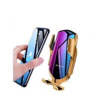 Support & Chargeur sans fil pour voiture Smart Sensor R1 - Gold