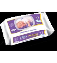 Lingettes lilas confort max