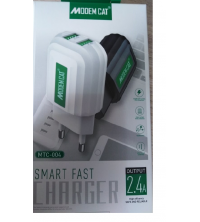 Chargeur MTC004 micro USB 2.4A 2in1