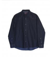 Chemise en jeans léger Bleu pour homme