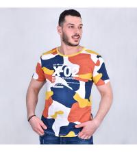 T-Shirt Imprime Militaire