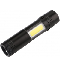 Mini Lampe Torche Puissante Zoom Waterproof Lampe de Proche Rechargeable