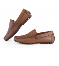 mocassin orthopédiques cuir Homme