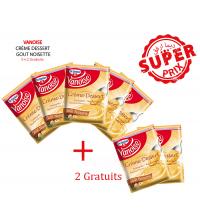 Pack 5 préparations Crème dessert gout Noisette + 2 gratuits