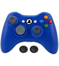 Manette Xbox 360 Sans Fil Bleu