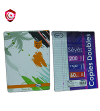 Pack - cahier 5/5 400 pages , 50 double feuille