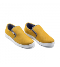 Basckets homme - Textile - Slip-ons - LC 1022 Jaune Moutarde