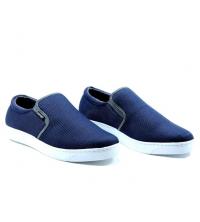 Basckets homme - Textile - Slip-ons - LC 1022 Bleu