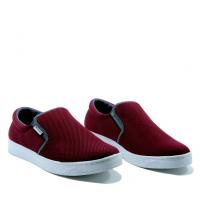 Basckets homme - Textile - Slip-ons - LC 1022 Rouge Bordeaux