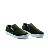 Basckets homme - Textile - Slip-ons - LC 1022 Vert