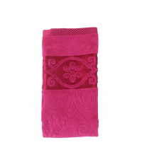 Serviette Rose fushia
