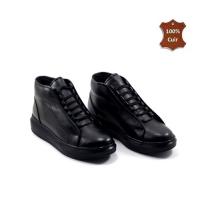 Boots pour homme - Sport-Chic - Noir LC 062