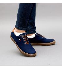 Sneakers LC 1015 - Tissu – Imperméable - Lacets - Bleu et Top