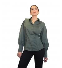 Chemise femmes Vert militaire