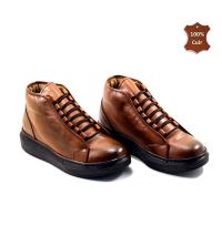 Boots pour homme LC 062 - Sport-Chic - Marron