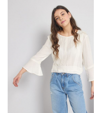 Blouse manches pagodes