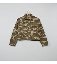 Veste-courte-en-toile-camouflage-fille