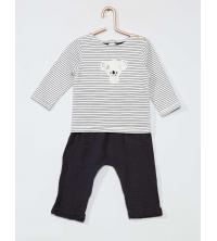 Ensemble t-shirt + pantalon Eco-design