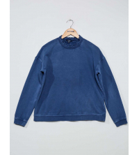 SWEAT SHIRT BLEU
