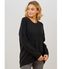 Pull col rond basique