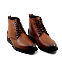 Boots LC 486 - Lacets - Cuir - Matt - Marron
