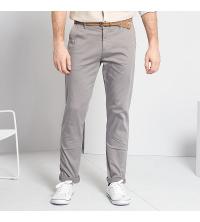 Pantalon chino slim ceinture