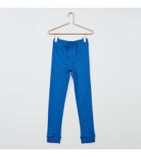 Bas de pyjama bleu