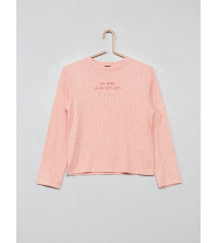 Pull doux A message