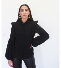 chemise femme Noir