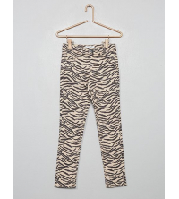 Pantalon skinny imprimE