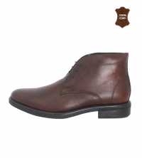 Bottines hommes marron