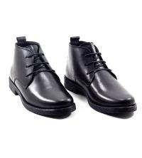 Boots Lacets Cuir Matt - Noir F20
