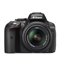 NIKON REFLEXE NUMERIQUE KIT D5300 AF-S DX 18-55VR NOIR VBA370K003