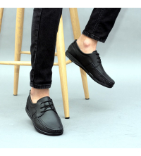 Chaussures LC 035 - Slips-on - Cuir - Noir