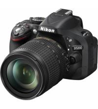 NIKON REFLEXE NUMERIQUE D5200 AF-S DX 18-105VR NOIR VBA350K005