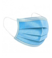 Lot de 50 - Masque médicale de protection respiratoire et d'hygiène - Bleu