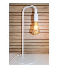Lampe à poser FerBo – Blanc – H50cm + Ampoule